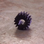 Nylon gear for press brake.
