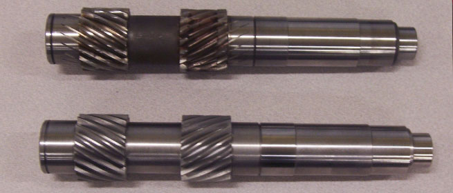New pinion shaft for a milling machine
